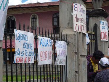 Cajamarca Conga Protest