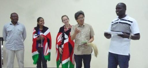 Kerio Valley, Kenya - Workshop graduation certificates