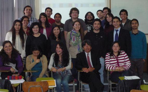 Universidad de Concepcion Indig rights class